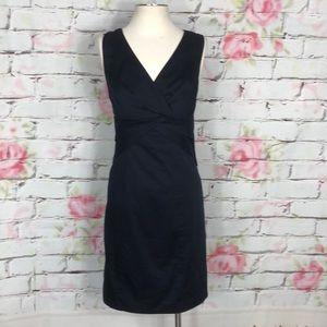 The limited navy sheath dress